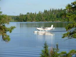 Canada fly-in fishing at Brown Bear lake